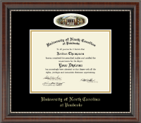University of North Carolina at Pembroke Diploma Frame - Campus Cameo Diploma Frame in Chateau
