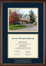 Covenant Theological Seminary Diploma Frame - Campus Scene Diploma Frame in Williamsburg