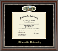 Millersville University of Pennsylvania Diploma Frame - Campus Cameo Diploma Frame in Chateau