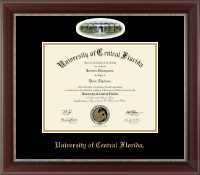 University of Central Florida Diploma Frame - Campus Cameo Diploma Frame in Chateau