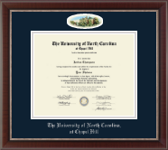 University of North Carolina Chapel Hill Diploma Frame - Campus Cameo Diploma Frame in Chateau