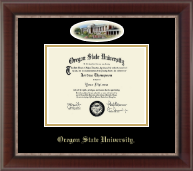 Oregon State University Diploma Frame - Campus Cameo Diploma Frame in Chateau