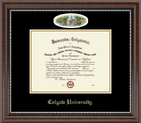 Colgate University Diploma Frame - Campus Cameo Diploma Frame in Chateau