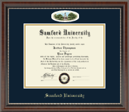 Samford University Diploma Frame - Campus Cameo Diploma Frame in Chateau