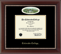 Colorado College Diploma Frame - Campus Cameo Diploma Frame in Chateau