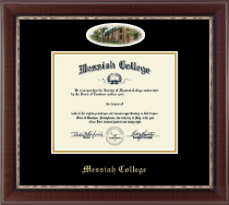 Messiah College Diploma Frame - Campus Cameo Diploma Frame in Chateau