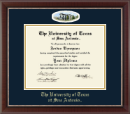 The University of Texas San Antonio Diploma Frame - Campus Cameo Diploma Frame in Chateau