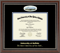 University at Buffalo Diploma Frame - Campus Cameo Diploma Frame in Chateau
