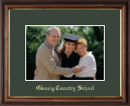 Glenelg Country School Photo Frame - Embossed Photo Frame in Williamsburg