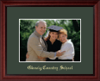 Glenelg Country School Photo Frame - Embossed Photo Frame in Camby