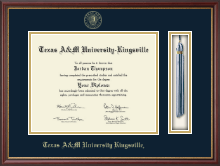 Texas A&M University Kingsville Diploma Frame - Tassel Edition Diploma Frame in Newport