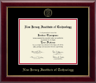 New Jersey Institute of Technology Diploma Frame - Gold Embossed Edition Diploma Frame in Gallery
