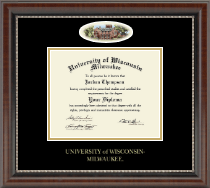 University of Wisconsin-Milwaukee Diploma Frame - Campus Cameo Diploma Frame in Chateau