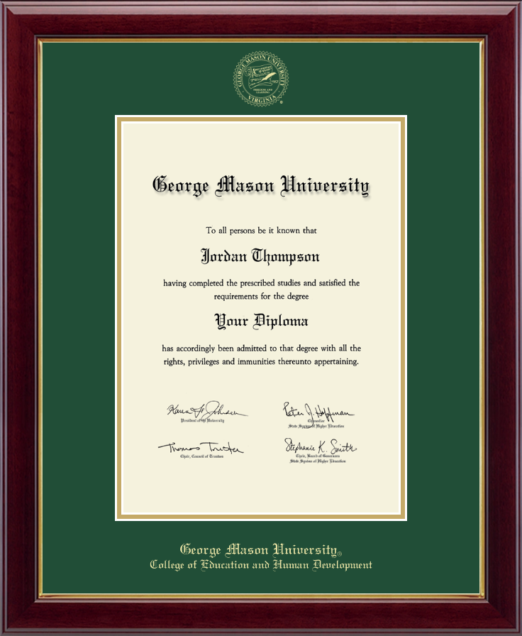 University of washington diploma frame