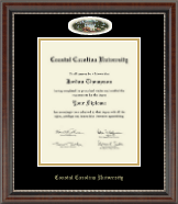 Coastal Carolina University Diploma Frame - Campus Cameo Diploma Frame in Chateau
