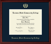 Lawson State Community College Diploma Frame - Gold Embossed Diploma Frame in Camby