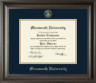 Monmouth University Diploma Frame - Gold Embossed Diploma Frame in Acadia
