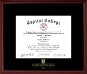 Capitol College Diploma Frame - Embossed Diploma Frame in Camby