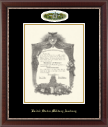 United States Military Academy Diploma Frame - Campus Cameo Diploma Frame in Chateau