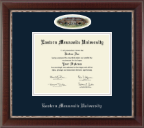 Eastern Mennonite University Diploma Frame - Campus Cameo Diploma Frame in Chateau