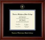 Eastern Oklahoma State College Diploma Frame - Gold Embossed Diploma Frame in Cambridge