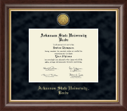 Arkansas State University Beebe Diploma Frame - Gold Engraved Medallion Diploma Frame in Hampshire