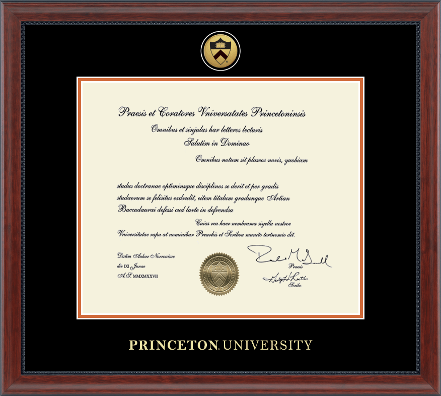 Suggestions Online | Images of Princeton Diploma