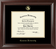 Cameron University Diploma Frame - Gold Embossed Diploma Frame in Rainier