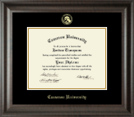 Cameron University Diploma Frame - Gold Embossed Diploma Frame in Acadia