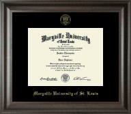 Maryville University of St. Louis Diploma Frame - Gold Embossed Diploma Frame in Acadia
