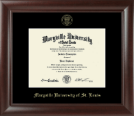 Maryville University of St. Louis Diploma Frame - Gold Embossed Diploma Frame in Rainier