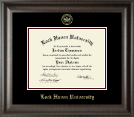 Lock Haven University Diploma Frame - Embossed Diploma Frame in Acadia