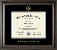 Bloomsburg University Diploma Frame - Gold Embossed Diploma Frame in Acadia