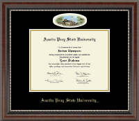 Austin Peay State University Diploma Frame - Campus Cameo Diploma Frame in Chateau