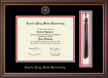 Austin Peay State University Diploma Frame - Tassel Edition Diploma Frame in Newport
