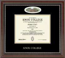 Knox College Diploma Frame - Campus Cameo Diploma Frame in Chateau