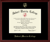 Robert Morris College in Illinois Diploma Frame - Gold Embossed Diploma Frame in Camby