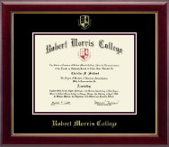 Robert Morris College in Illinois Diploma Frame - Gold Embossed Diploma Frame in Gallery
