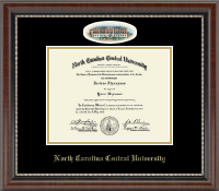 North Carolina Central University Diploma Frame - Campus Cameo Diploma Frame in Chateau