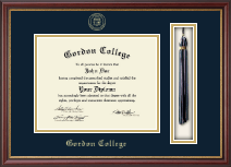 Gordon College in Georgia Diploma Frame - Tassel Edition Diploma Frame in Newport