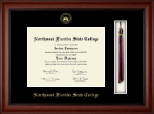 Northwest Florida State College Diploma Frame - Tassel Edition Diploma Frame in Cambridge