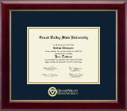 Grand Valley State University Diploma Frame - Gold Embossed Diploma Frame in Gallery