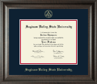 Saginaw Valley State University Diploma Frame - Gold Embossed Diploma Frame in Acadia