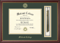Midland College Diploma Frame - Tassel Edition Diploma Frame in Newport
