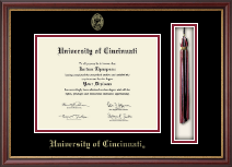 University of Cincinnati Diploma Frame - Tassel Edition Diploma Frame in Newport