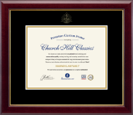 Dentistry Diploma Frames and Gifts Diploma Frame - Gold Embossed Dental School Diploma Frame in Gallery