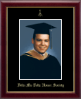 Delta Mu Delta Photo Frame - Gold Embossed Photo in Galleria