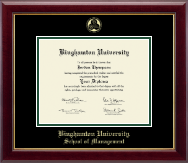 Binghamton University - State of New York Diploma Frame - Gold Embossed Diploma Frame in Gallery