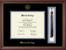 Walsh College Diploma Frame - Tassel Edition Diploma Frame in Newport