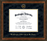 Washington University in St. Louis Diploma Frame - Heirloom Edition Diploma Frame in Ashford